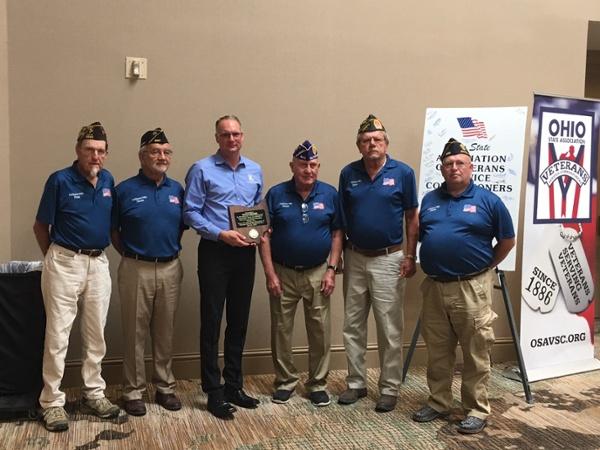 Keller Trucking an Affiliate of Keller Logistics Group Veterans Service Award