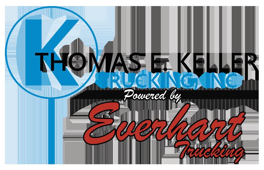 Keller Trucking and Everhart Trucking Logo