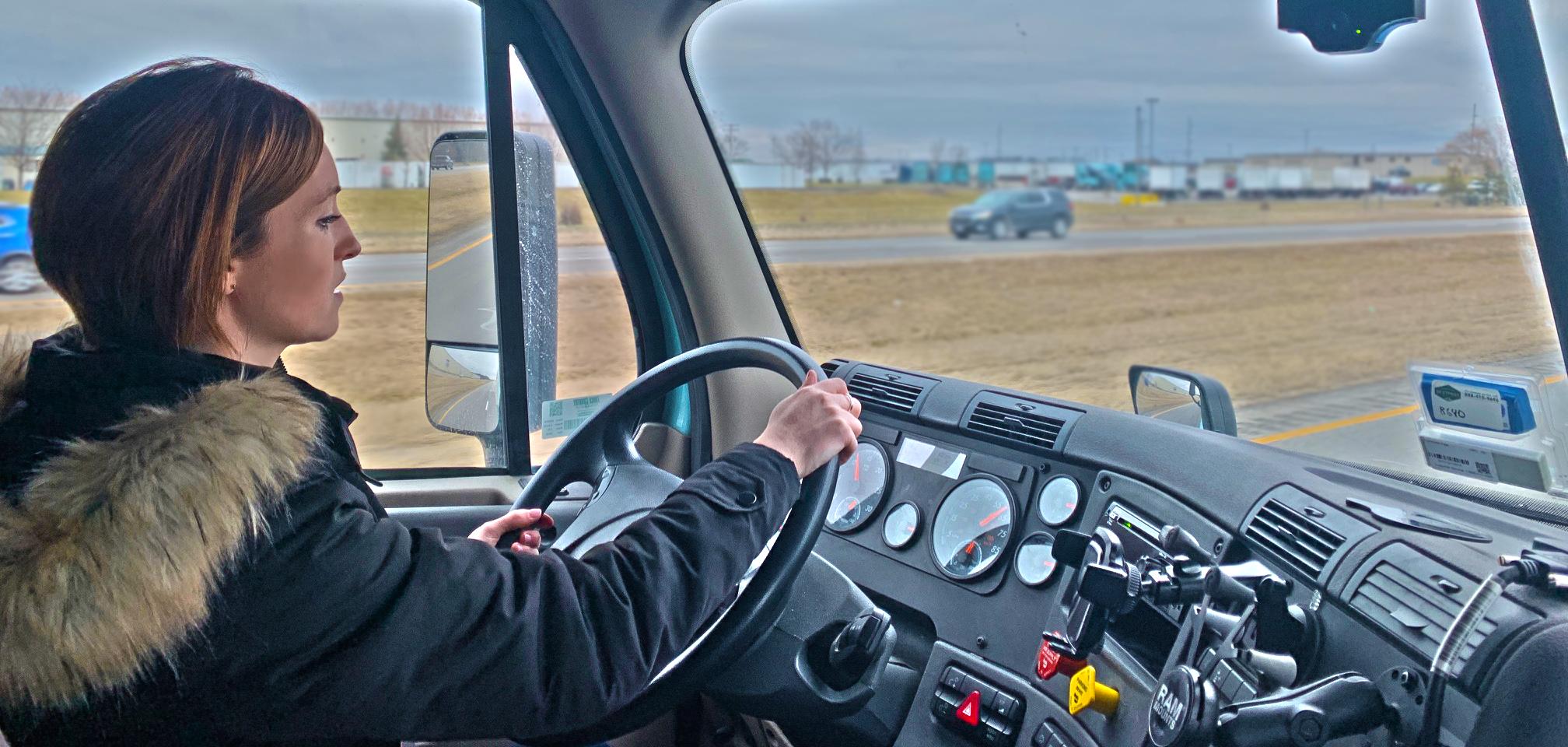 CDL Holder and Keller Trucking Driver Development Coordinator Sarah Cates