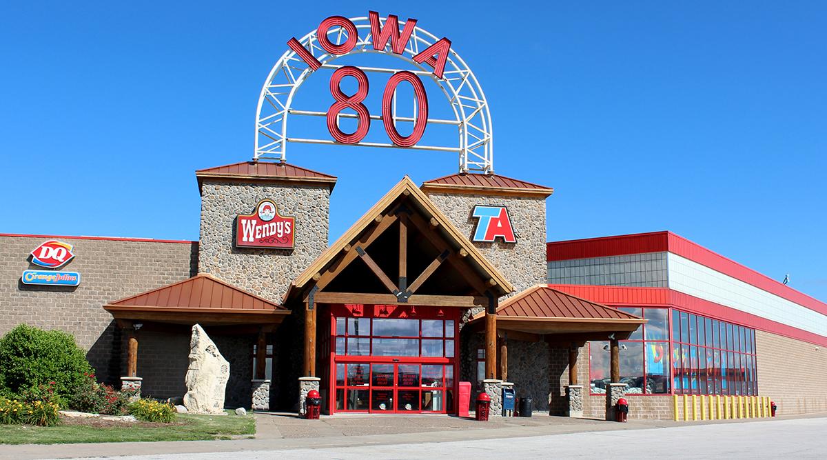 Iowa 80 Truck Stop in Walcott, Iowa