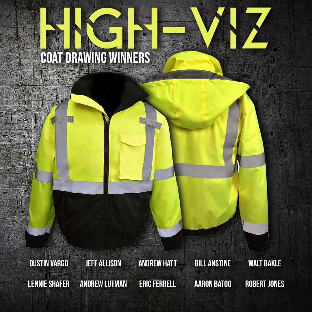 Keller Trucking High-Viz Coat
