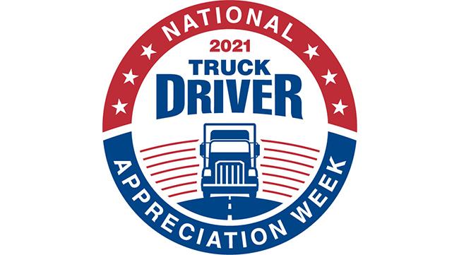 2021 National Truck Driver Appreciation Week Logo